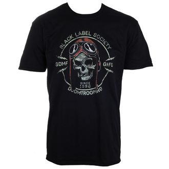 Herren T-Shirt  Black Label Society - PLASTIC HEAD, PLASTIC HEAD, Black Label Society