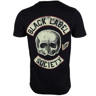 Herren T-Shirt  Black Label Society - Riding Hot Rod - PLASTIC HEAD, PLASTIC HEAD, Black Label Society