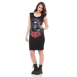 Kleid Ladies VOODOO VIXEN - Black Marlyn, JAWBREAKER