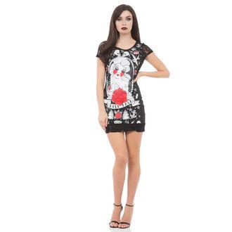 Kleid Ladies JAWBREAKER - Black/Red Rose, JAWBREAKER