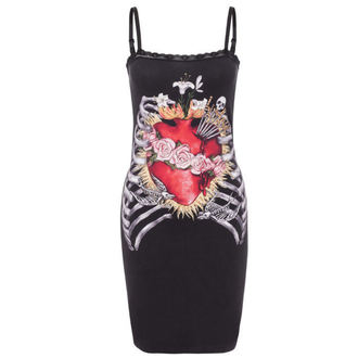 Kleid Ladies JAWBREAKER - blck - Heart In Ribcage, JAWBREAKER