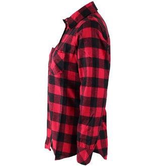 Damen Langarmhemd Rothco - PLAID - ROT, ROTHCO