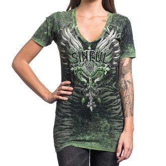 Damen T-Shirt AFFLICTION - Sinful Undying - BBDA, AFFLICTION