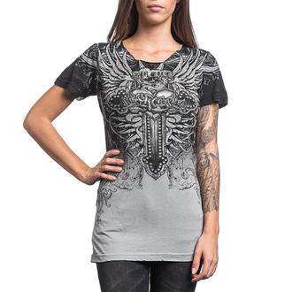Damen T-Shirt AFFLICTION - Sinful Vaudeville - HGY, AFFLICTION