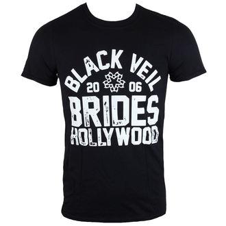 Herren T-Shirt Black Veil Brides  - Hollywood - schwarz - LIVE NATION, LIVE NATION, Black Veil Brides