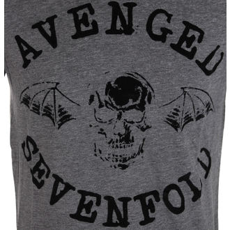 Herren T-Shirt Avenged Sevenfold - Classic Deathbat Acid Wash - ROCK OFF, ROCK OFF, Avenged Sevenfold