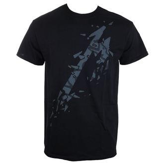Herren T-Shirt Metallica - Black Album - schwarz - ATMOSPHERE - RTMTLTSBMBL