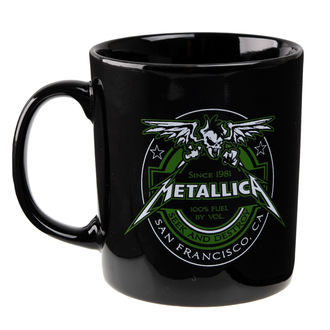Keramiktasse Metallica - Fuel Black - ATMOSPHERE, NNM, Metallica