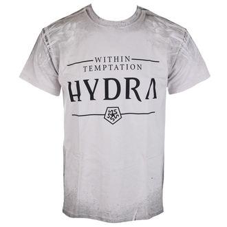 Herren T-Shirt Sin Temptation - Hydra A/O Texture - Ice Grey, NNM, Within Temptation