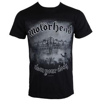 Herren T-Shirt Motörhead - Clean Your Clock B&W - ROCK OFF, ROCK OFF, Motörhead