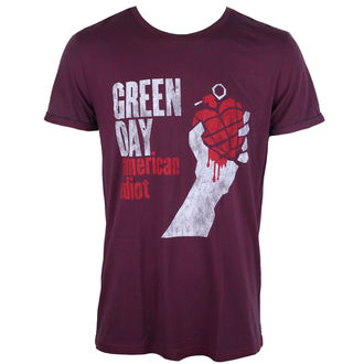 Herren T-Shirt Green Day - American Idiot - ROCK OFF - GDTS19MNR