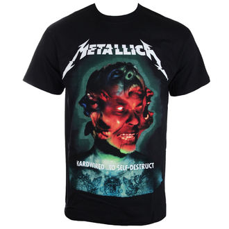 Herren T-Shirt Metallica - Hardwired Album Cover - ATMOSPHERE, NNM, Metallica