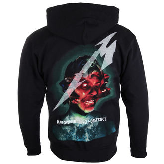 Herren Hoodie Metallica - Hardwired Album Cover - ATMOSPHERE, NNM, Metallica