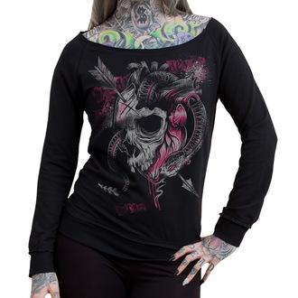 Damen Sweatshirt HYRAW - Sweat Leger - Heart, HYRAW