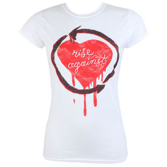 Damen Metal T-Shirt Rise Against Rough Heart PLASTIC HEAD PH9546G, PLASTIC HEAD, Rise Against