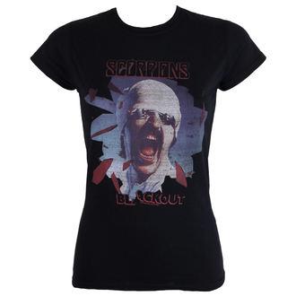 Damen T-Shirt Scorpions Black Out PLASTIC HEAD PH9869G, PLASTIC HEAD, Scorpions