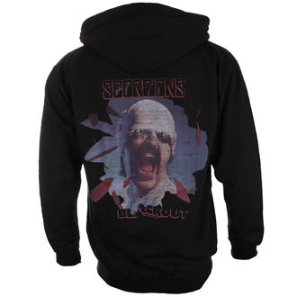 Herren Hoodie Scorpions Black Out PLASTIC HEAD PH9869HSWZ, PLASTIC HEAD, Scorpions