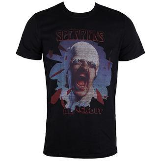 Herren T-Shirt Scorpions Black Out PLASTIC HEAD PH9869, PLASTIC HEAD, Scorpions