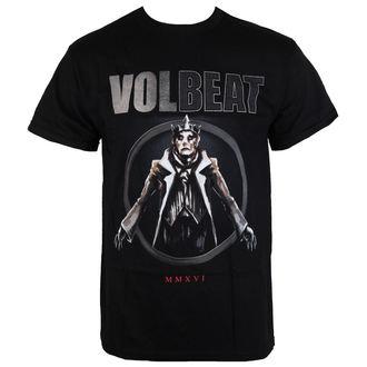 Herren T-Shirt Volbeat - RED KING-BLACK - BRAVADO, BRAVADO, Volbeat