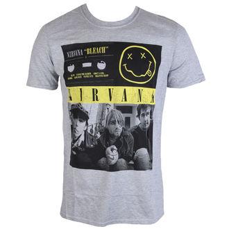 Herren Metal T-Shirt Nirvana Bleach Tape Photo PLASTIC HEAD RTNIR071, PLASTIC HEAD, Nirvana