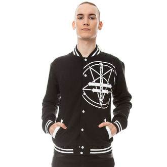 Herren Sweatjacke DEATH TO ALL- BLACK HEARTLESS POI141, HEARTLESS