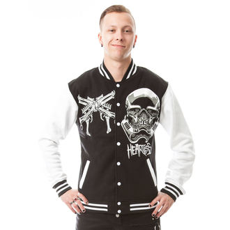 Herren Sweatjacke SKULL TROOPER HEARTLESS POI172, HEARTLESS