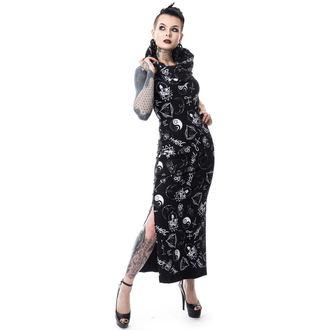 Damen Kleid HEARTLESS - BLACK MAGIC PENTAGRAM - SCHWARZ, HEARTLESS