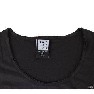 Damen Metal T-Shirt Kiss - DISTRESSED ARMY CHARCOAL - AMPLIFIED, AMPLIFIED, Kiss