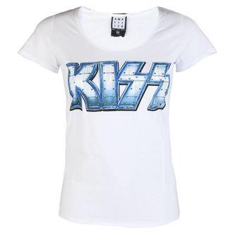 Damen Metal T-Shirt Kiss - METAL DISTRESSED - AMPLIFIED, AMPLIFIED, Kiss