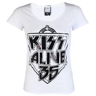 Damen Metal T-Shirt - K 35 WHITE - AMPLIFIED, AMPLIFIED, Kiss