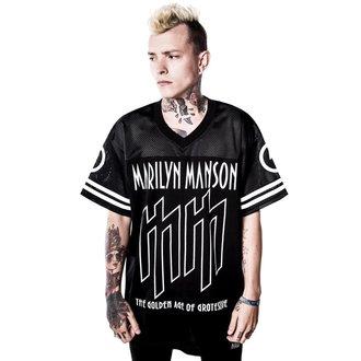 Unisex T-Shirt Jersey Marilyn Manson Ka-Boom Ka-Boom KILLSTAR K-TSH-U-2204, KILLSTAR, Marilyn Manson