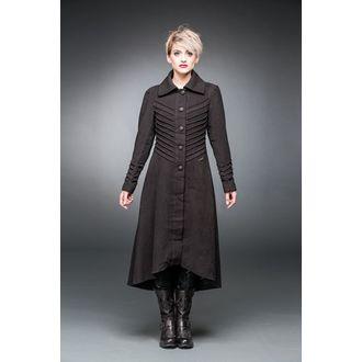 Damen Mantel QUEEN OF DARKNESS - Decorative Stitching, QUEEN OF DARKNESS