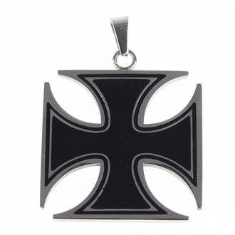 Anhänger mit Kette ETNOX - Black Iron Cross, ETNOX