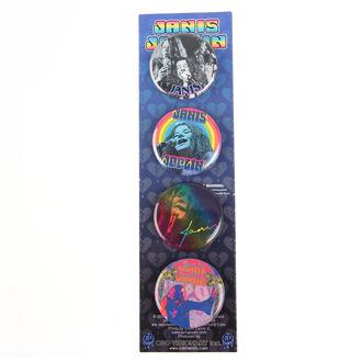 Ansteckbutttons Janis Joplin - B-5917-S