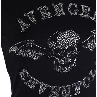 Damen Metal T-Shirt Avenged Sevenfold - Deathbat - ROCK OFF, ROCK OFF, Avenged Sevenfold