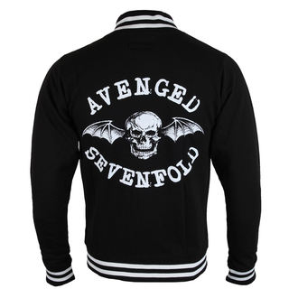 Herren Sweatshirt (ohne Kapuze) Avenged Sevenfold - Death Bat - ROCK OFF, ROCK OFF, Avenged Sevenfold
