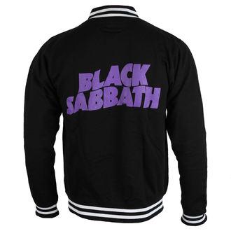 Herren Sweatshirt (ohne Kapuze) Black Sabbath - Wavy Logo - ROCK OFF, ROCK OFF, Black Sabbath
