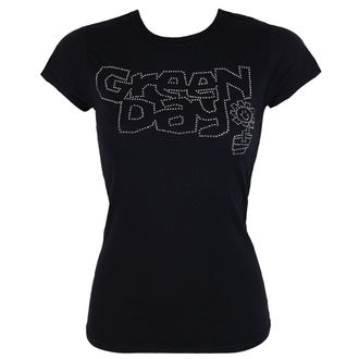 Damen Metal T-Shirt Green Day - Flower Pot - ROCK OFF, ROCK OFF, Green Day