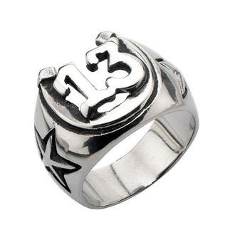 Ring INOX - BLK LCKY13 HORSHOE, INOX