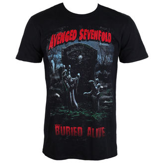 Herren Metal T-Shirt Avenged Sevenfold - Buried Alive Tour 2012 - ROCK OFF, ROCK OFF, Avenged Sevenfold