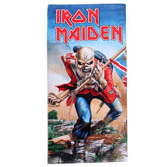 Handtuch Iron Maiden The Trooper , NNM, Iron Maiden