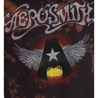 Herren T-Shirt Metal Aerosmith - Flying A - BAILEY, BAILEY, Aerosmith