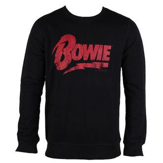 Herren Sweatshirt David Bowie - NAME LOGO - AMPLIFIED, AMPLIFIED, David Bowie