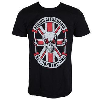 Herren T-Shirt Metal Asking Alexandria - Rebel - LIVE NATION, LIVE NATION, Asking Alexandria