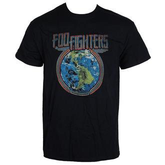 Herren T-Shirt Metal Foo Fighters - Globe - LIVE NATION, LIVE NATION, Foo Fighters
