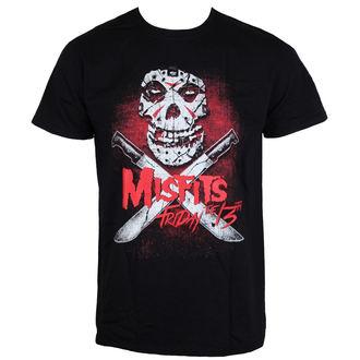 Herren T-Shirt Metal Misfits - Friday 13Th - LIVE NATION, LIVE NATION, Misfits