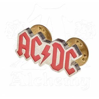 Reißzwecke AC / DC - ALCHEMY GOTHIC - Emaille Logo, ALCHEMY GOTHIC, AC-DC