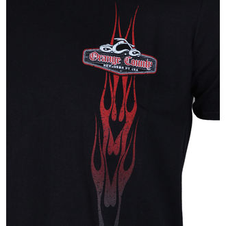 Herren T-Shirt - Vertikal Flame - ORANGE COUNTY CHOPPERS, ORANGE COUNTY CHOPPERS