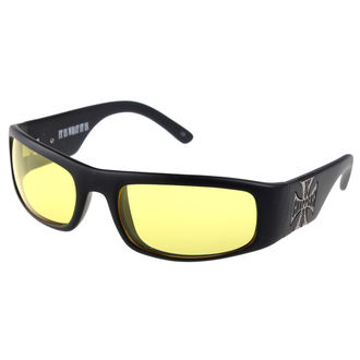 Brille West Coast Choppers - YELLOW, West Coast Choppers