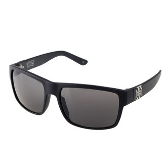Brille West Coast Choppers - MATTE BLACK SMOKED, West Coast Choppers